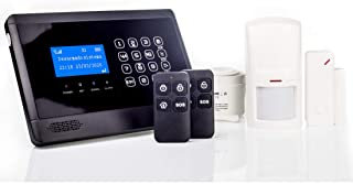AAPC - Kit Alarma M2BX- gsm-SMS-LCD- Sin Cuotas
