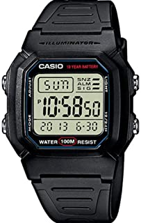 Casio Collection  W-800H-1AVES- Reloj Digital Unisex- Negro