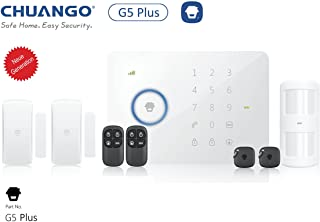 CHUANGO 1 gsm-SMS-RFID Touch Alarm System- Blanco